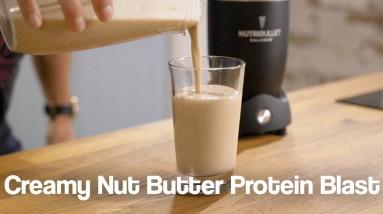 Creamy Nut Butter Protein Blast